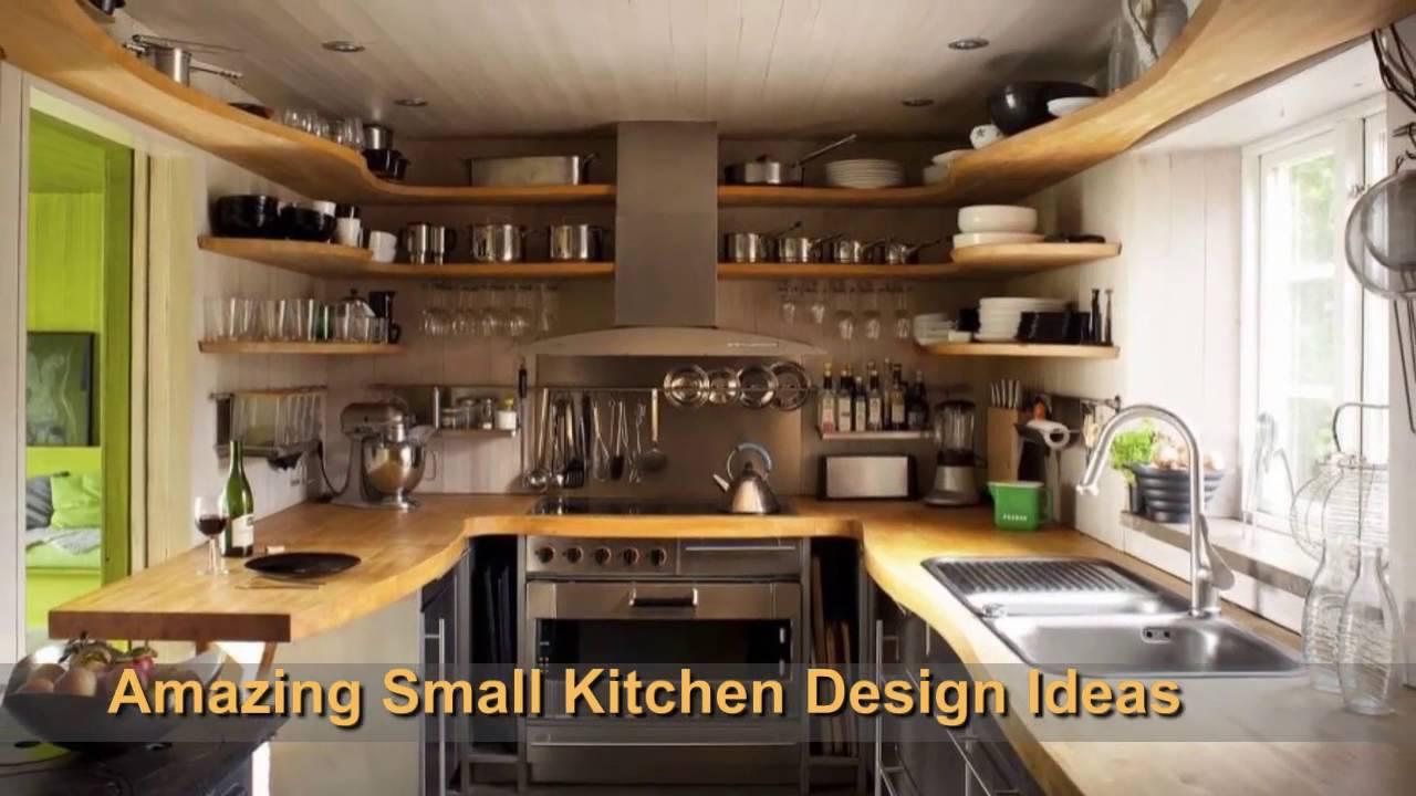 Amazing Small Kitchen Design Ideas Youtube