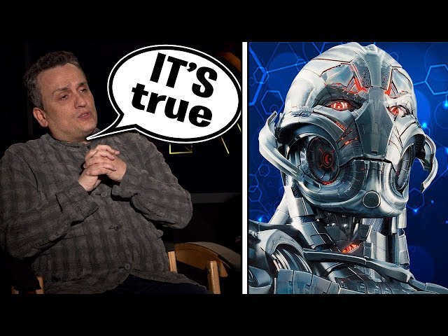 CONFIRMED ULTRON WILL BE IN AVENGERS: ENDGAME?!