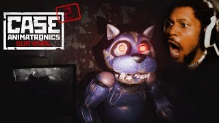 WHY IS HE RUNNING SO FAST!? | Case 2: Animatronics Survival
