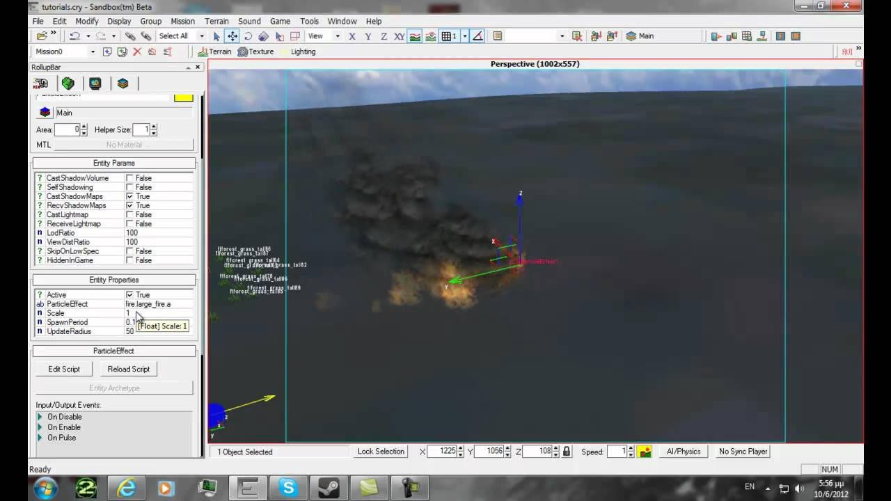 far cry sandbox editor tutorial particle effect youtube