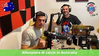 Allenare nella Juventus Academy di Sydney, con Omar Burberi