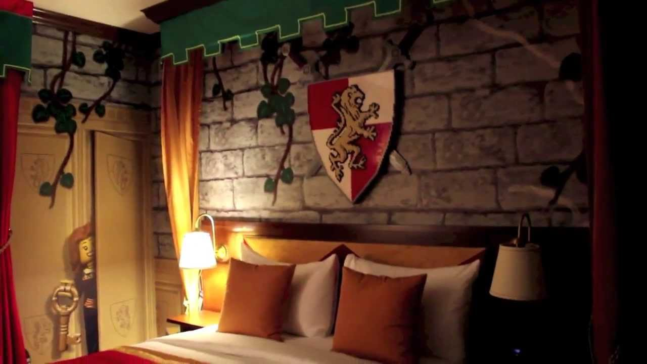 Legoland Hotel Kingdom Room Tour at Legoland California