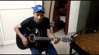 Aaj unse pehli mulakat hogi | Guitar cover |