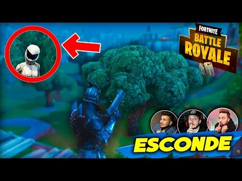 ESCONDE-ESCONDE NO FORTNITE #3