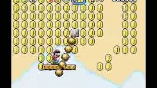 Super Mario World - Chocolate Island 3 (Alternate Exit).