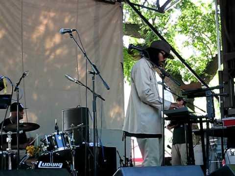 Dam-Funk - Mirrors - Live at Pitchfork 2010 Music Festival