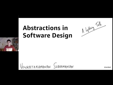 Abstractions in Software Design – A Lightning Talk