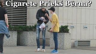 Cigarete Priekš Bērna? #2 / Cigarettes for a Child Experiment
