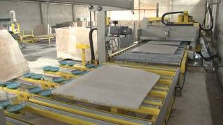 Gangsaw 80Blades,Mermer,Katrak,Plaka Silim Cila,Köprü Kesme, линия по производству мраморных плит