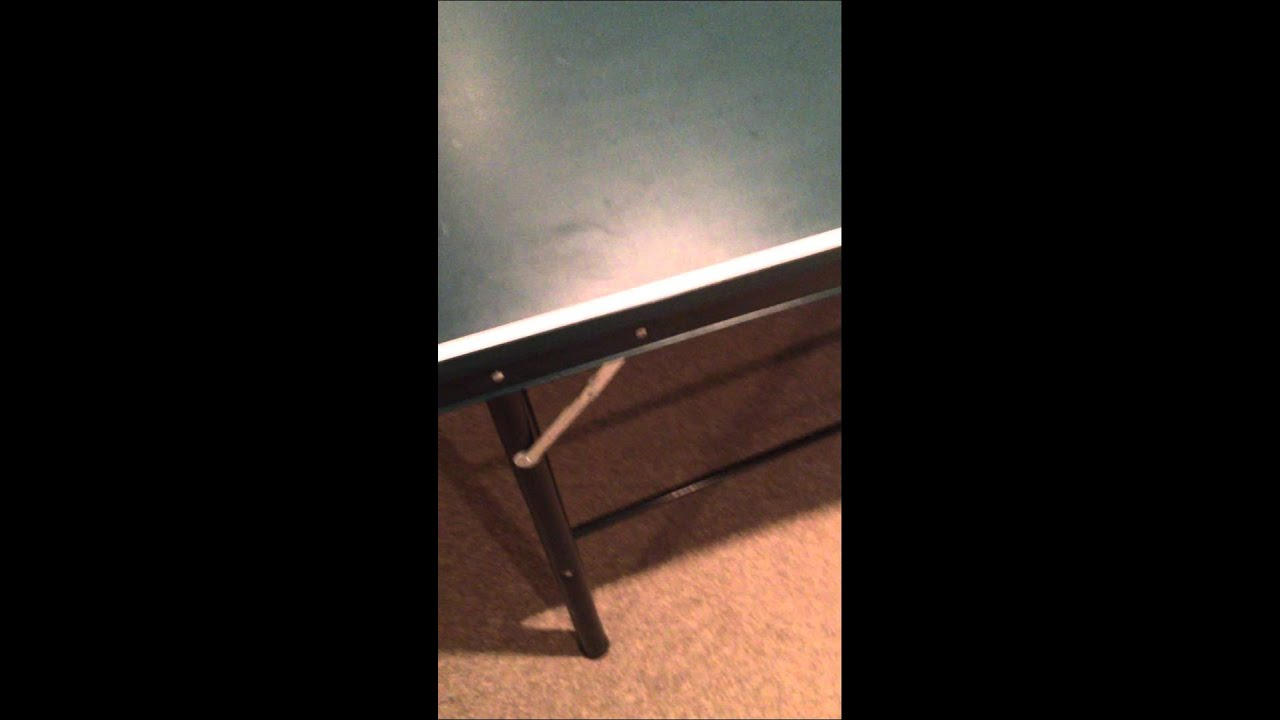 Harvard Ping Pong Table Disassembly 1 Youtube