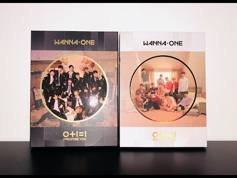 UNBOXING ♡ WANNA ONE I Promise You (Day & Night Version)