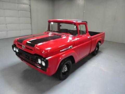 1960 ford f 100 pickup truck 460ci v8 restored and for sale youtube. Black Bedroom Furniture Sets. Home Design Ideas