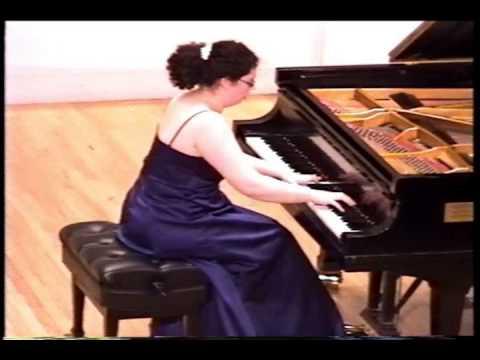 Jeanette Aufiero plays Liszt Hungarian Rhapsody 12