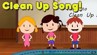 Clean Up Song for Children - Kindergarten and Preschool Song - by ELF Learning