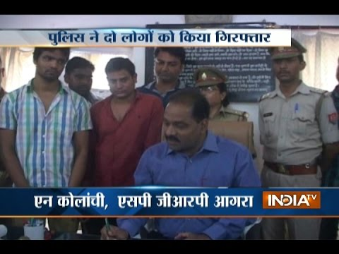 Agra: 2 Smugglers Held, Heroin and Cash Seized