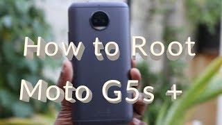How to Root [ Moto G5s Plus ] !!!!!