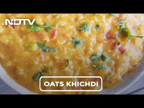 How To Make Oats Khichdi   Easy Oats Khichdi Recipe Video