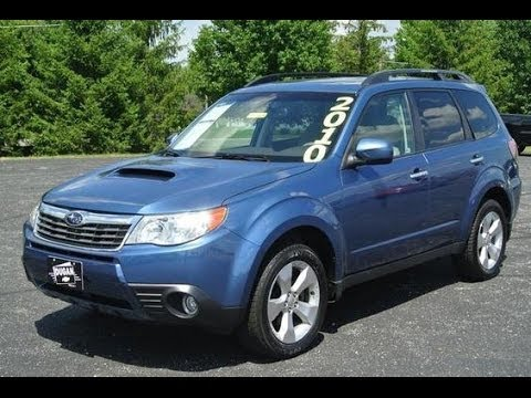 2010 Subaru Forester 2 5xt Premium Start Up And Full Tour Youtube
