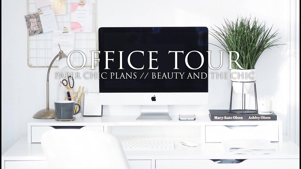 Office Tour // Paper Chic Plans