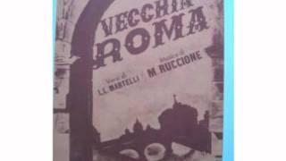 VECCHIA ROMA (CLAUDIO VILLA)