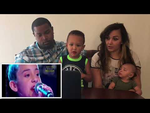 (Family Reacts) JOTTA A & MICHELY MANUELY-Hallelujah