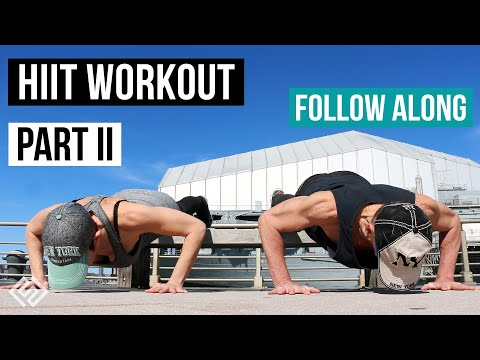 HIIT STRENGTH WORKOUT TAKE YOUR WORKOUT OUTSIDE DURING COVID-19