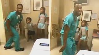 Когда мама увидела, что этот доктор делал с её детьми, она запечатлела его действия на камеру