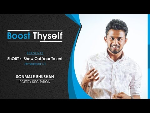 Life is challenging by Sonmale Bhushan in ShOUT by Boost Thyself Ahmadabad 1.0