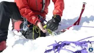 2 Person Rope Team Crevasse Rescue