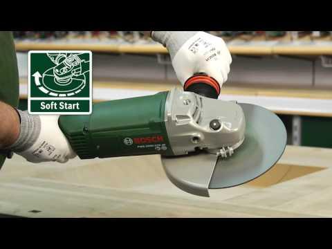 Tutorial: Winkelschleifer PWS 2000-230 JE von Bosch