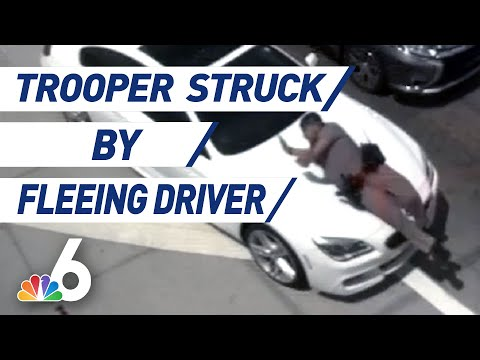 MORNING NEWS - Caught On Camera: Trooper Hit By Car
