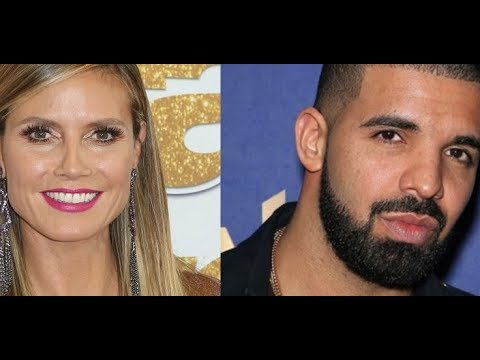 Drake REPORTEDLY DOESNT CARE Heidi Klum GHOSTED HIM When He Texted Her