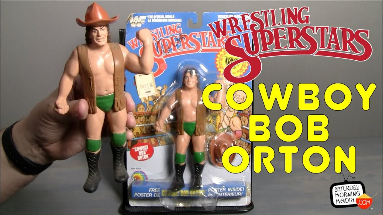 WWE FLASHBACK SERIES FIGURE SET WWF COWBOY BOB ORTON