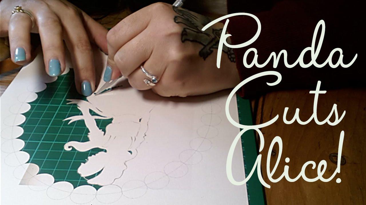 Paper panda cuts alice in wonderland youtube maxwellsz