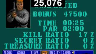 Wolfenstein 3D Escape from Wolfenstein 2 speedrun 100% (Death Incarnate) in 25sec. by Tiref
