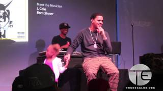 """Download Little Girl Gets On Stage As J. Cole Performs """"Power Trip"""" (NYC) Mp3 and Videos"""
