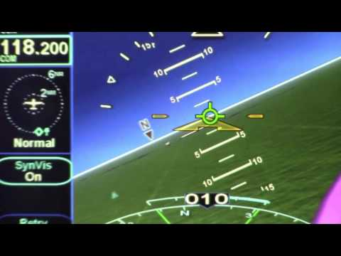 Avidyne's Synthetic Vision