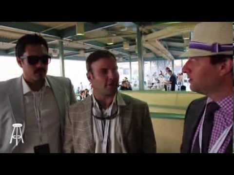 Barstool Bro Show at the Breeders Cup Featuring Wes Welker