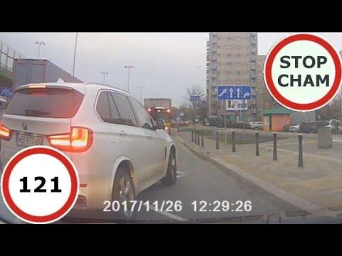 Stop Cham #121 – Niebezpieczne i chamskie sytuacje na drogach