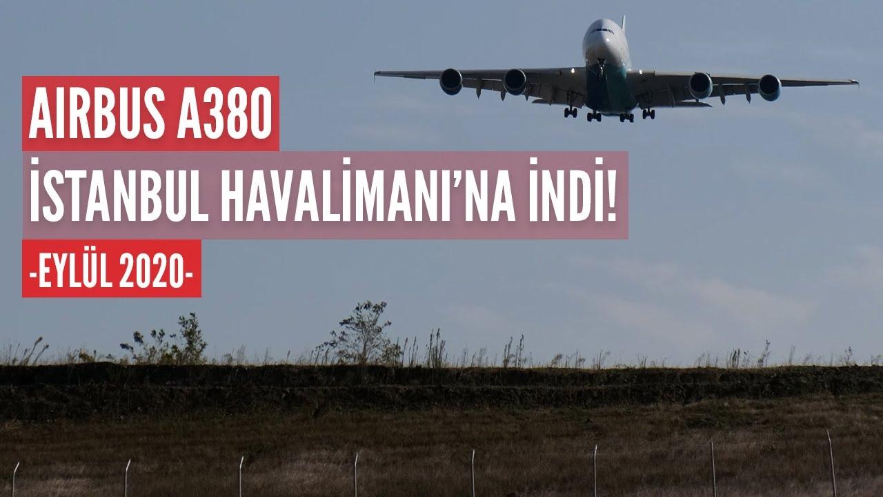 İSTANBUL HAVALİMANI'NA İLK AIRBUS A380 İNDİ! (HAVACILIK BÜLTENİ 80)