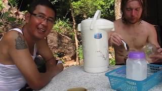 Andaman sailing catamaran Sharkfood Phuket  Однажды в Андаманском море (музыка удалена)
