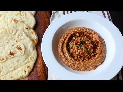 Muhammara (Roasted Pepper & Walnut Spread) - How to Make Muhammara Dip & Spread