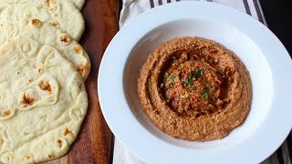 Muhammara (Roasted Pepper & Walnut Spread) - How to Make Muh...