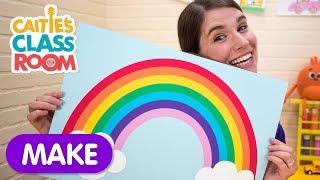 Let's Make A Glitter Rainbow | Caitie's Classroom