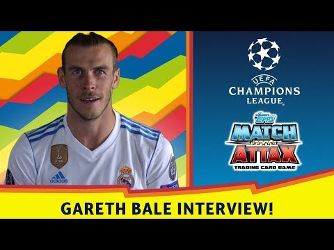 GARETH BALE INTERVIEW - PLATINUM LIMITED EDITION CARD TO BE FOUND!