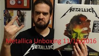 Metallica Hard Wired To Self-Destruct Unboxing Free Audio Download!
