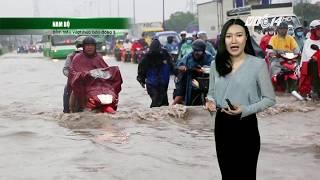 VTC14 | Thời tiết 12h 21/10/2017| Nam Bộ: Triều cường vẫn đạt đỉnh và ở mức cao