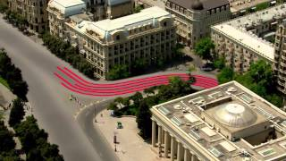 A First Look At Baku City Circuit | F1 2016(Take a trip round the new Baku City Circuit, host of the 2016 Formula 1 Grand Prix of Europe. For more F1® videos, visit http://www.Formula1.com Follow F1® on ..., 2016-02-26T13:09:30.000Z)