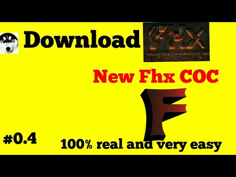How To Download Fhx Coc Server On Android.