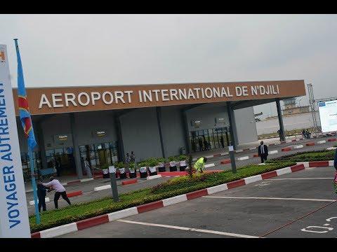 L' aeroport de ndjli kinshasa  en rehabilitation